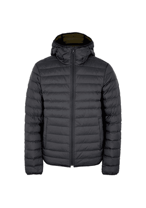 J.Lindeberg Ice Black Reversible Quilted Shell Jacket