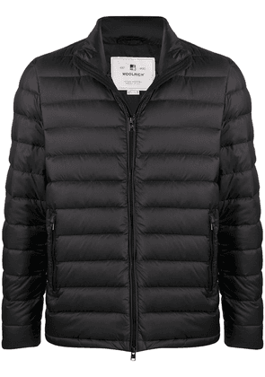 Woolrich panelled padded jacket - Black