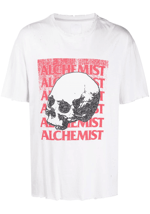 Alchemist distressed t-shirt - White