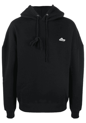 We11done dropped shoulder hoodie - Black
