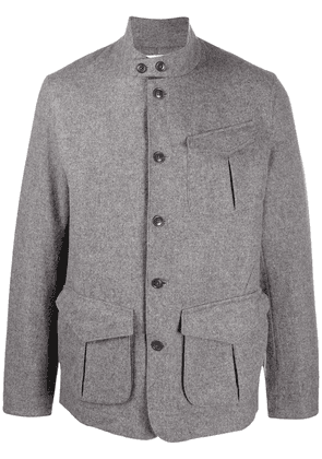 Barbour Trent wool-blend blazer - Grey