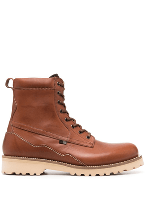 Woolrich leather desert boots - Brown