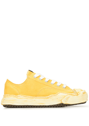 Maison Mihara Yasuhiro Original Sole low-top sneakers - Yellow