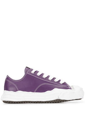 Maison Mihara Yasuhiro low-top lace-up sneakers - PURPLE