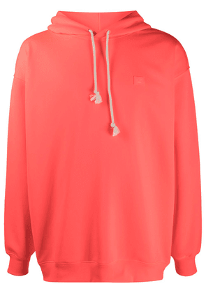 Acne Studios oversized Face-patch hoodie - Pink