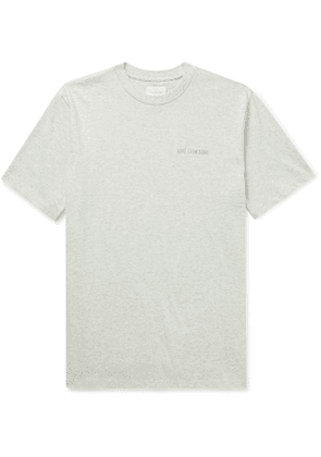 Aimé Leon Dore - Logo-Embroidered Cotton-Jersey T-Shirt - Men - Gray