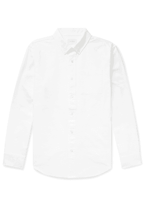 Aimé Leon Dore - Button-Down Collar Cotton Oxford Shirt - Men - White