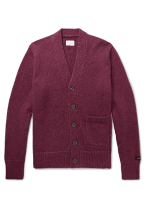 Aimé Leon Dore - Knitted Cardigan - Men - Purple