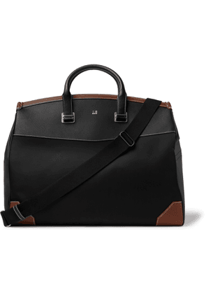 Dunhill - Shell and Leather Holdall - Men - Black