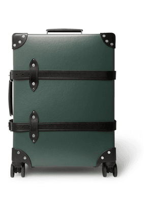 Globe-Trotter - No Time to Die 30 Leather-Trimmed Trolley Case' - Men - Green
