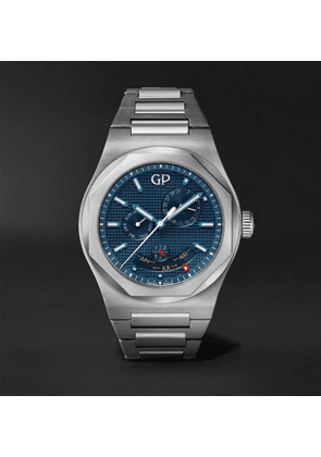 Girard-Perregaux - Laureato Perpetual Calendar 42mm Automatic Stainless Steel Watch, Ref. No. 81035-11-431-11A - Men - Blue