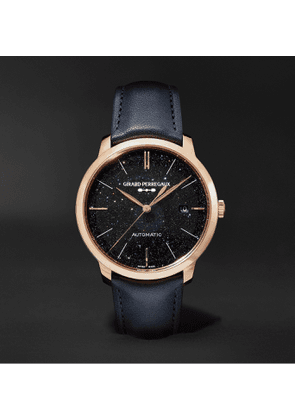 Girard-Perregaux - 1996 Orion Automatic 40mm Rose Gold and Leather Watch, Ref. No. 49555-52-431-BB4A - Men - Black