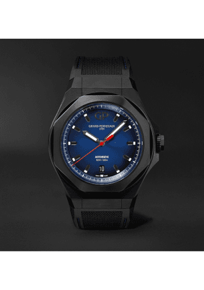 Girard-Perregaux - Laureato Absolute Automatic 44mm Titanium and Rubber Watch, Ref. No. 81070-21-491-FH6A - Men - Blue