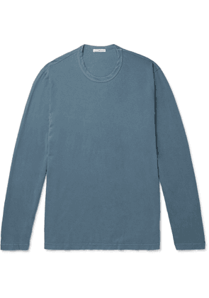 James Perse - Combed Cotton-Jersey T-Shirt - Men - Blue