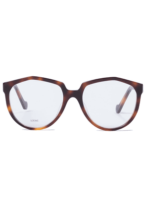 Oversized round acetate glasses