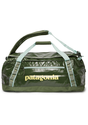 Patagonia - Black Hole Packable Logo-Print Coated-Ripstop Holdall - Men - Green