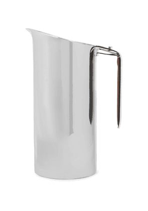 Ralph Lauren Home - Wyatt Stainless Steel and Leather Pitcher - Men - Silver