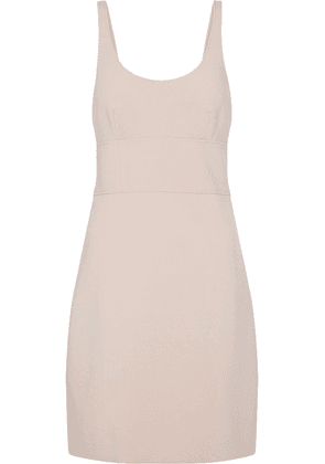 Elizabeth And James Cutout Stretch-ponte Mini Dress Woman Pastel pink Size 8
