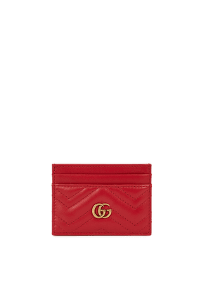 Gucci GG Marmont Red Leather Card Holder