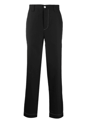 Sunnei mid-rise tailored trousers - Black