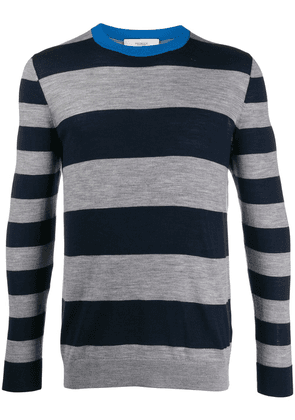 Pringle of Scotland Rugby-striped merino wool jumper - Blue