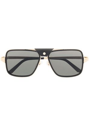 Cartier Eyewear CT0263SA navigator-frame sunglasses - Black