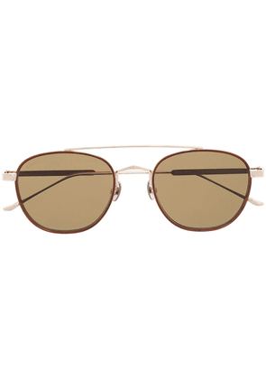Cartier Eyewear CT0251S pilot-frame sunglasses - GOLD