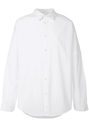 Helmut Lang distorted arm shirt - White