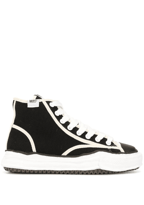 Maison Mihara Yasuhiro Sole Trick high-top sneakers - Black
