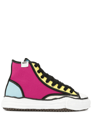Maison Mihara Yasuhiro Sole Trick high-top sneakers - Multicolour