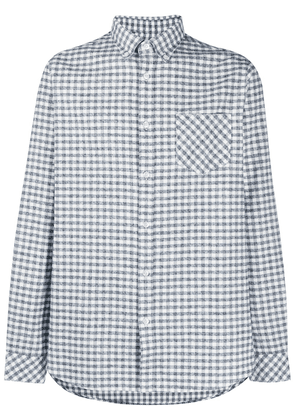 Barbour gingham check button-down shirt - White