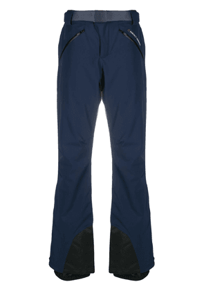 Perfect Moment star-print fitted trousers - Blue
