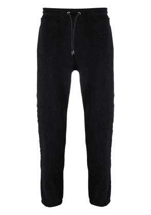 PS Paul Smith embroidered stripe trackpants - Black