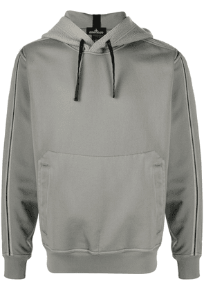Stone Island Shadow Project panelled hoodie - Grey
