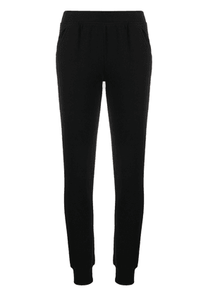 Atm Anthony Thomas Melillo high-waisted slim fit track trousers - Black