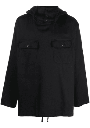 Engineered Garments oversized hooded jumper - Black