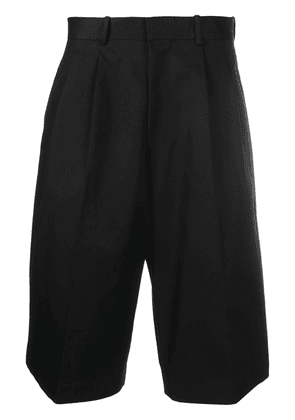 Alexander McQueen loose tailored shorts - Black