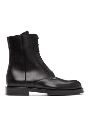 Pierre Hardy Black Parade Lace-Up Boots