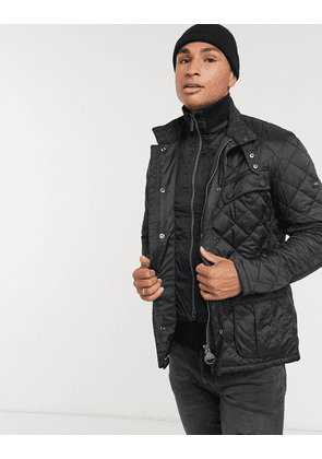 Barbour International Windshield quilted jacket in black