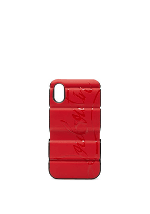 Christian Louboutin - Red Runner Iphone® X & Xs Phone Case - Womens - Red Multi