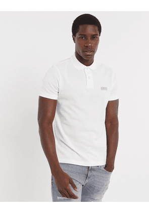 Barbour International essential logo polo in white