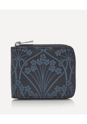 Ianthe Coated Canvas Small Zip-Around Wallet