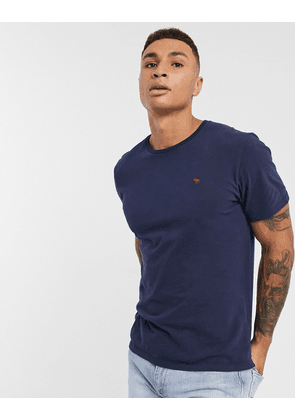 Abercrombie & Fitch icon logo t-shirt in navy