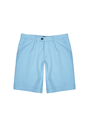 BOSS Slice Blue Cotton-blend Shorts