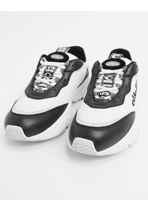 Ellesse massello chunky trainers in black and white-Multi