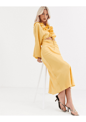 C/Meo Collective knowing of this co-ord skirt-Yellow
