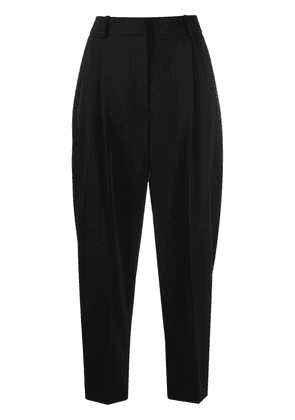 Stella McCartney cropped tailored trousers - Black