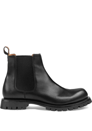 Gucci leather Chelsea boots - Black