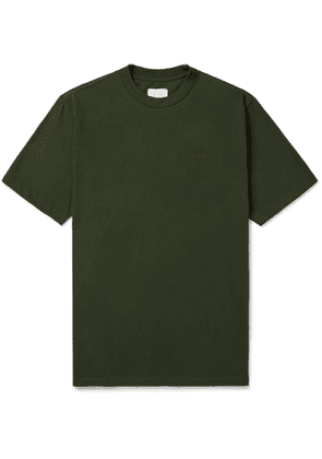 Aimé Leon Dore - Logo-Embroidered Cotton-Jersey T-Shirt - Men - Green