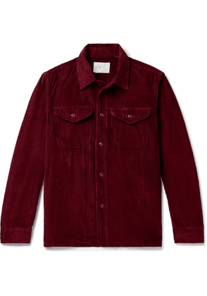 Aimé Leon Dore - Cotton-Corduroy Overshirt - Men - Burgundy